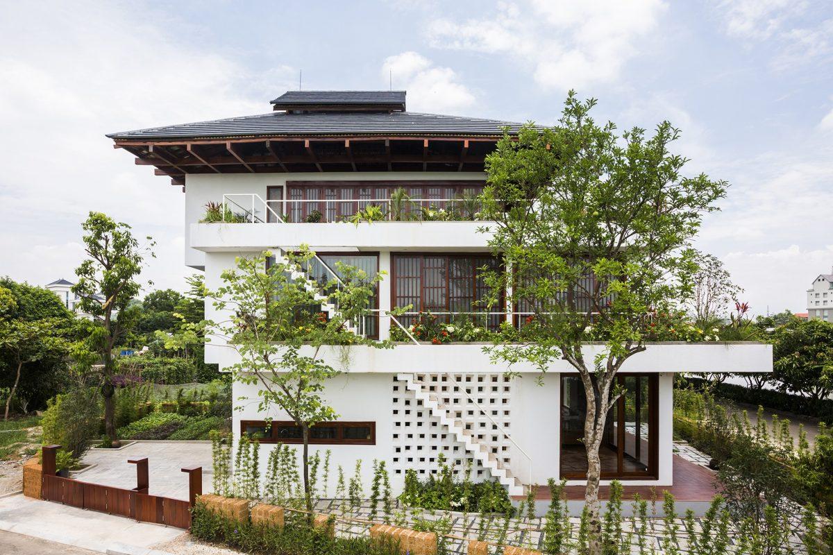 (Kỳ 8) – Ngôi Nhà 3 tầng đậm chất kiến trúc Nhật Bản.